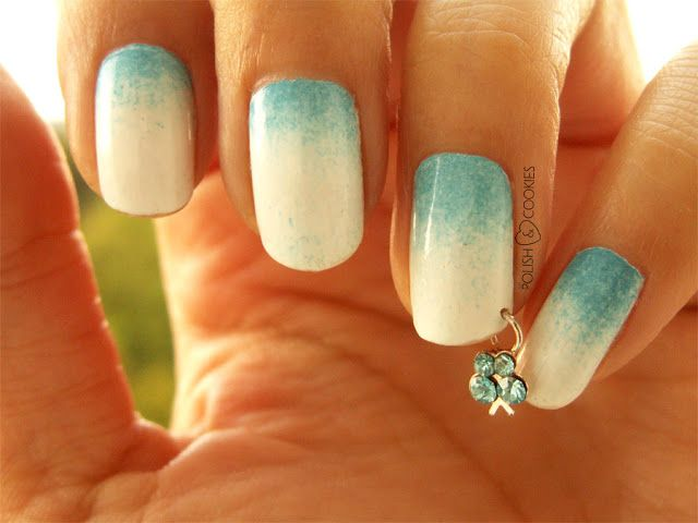 Pierced Nails - TUTORIAL! - Butterflies On My Nails from http://polishcookies.blogspot.com