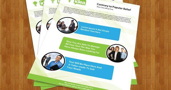 30 Free Brochure Templates for Download Дизайн, Брошюры и Дизайн - free profile templates