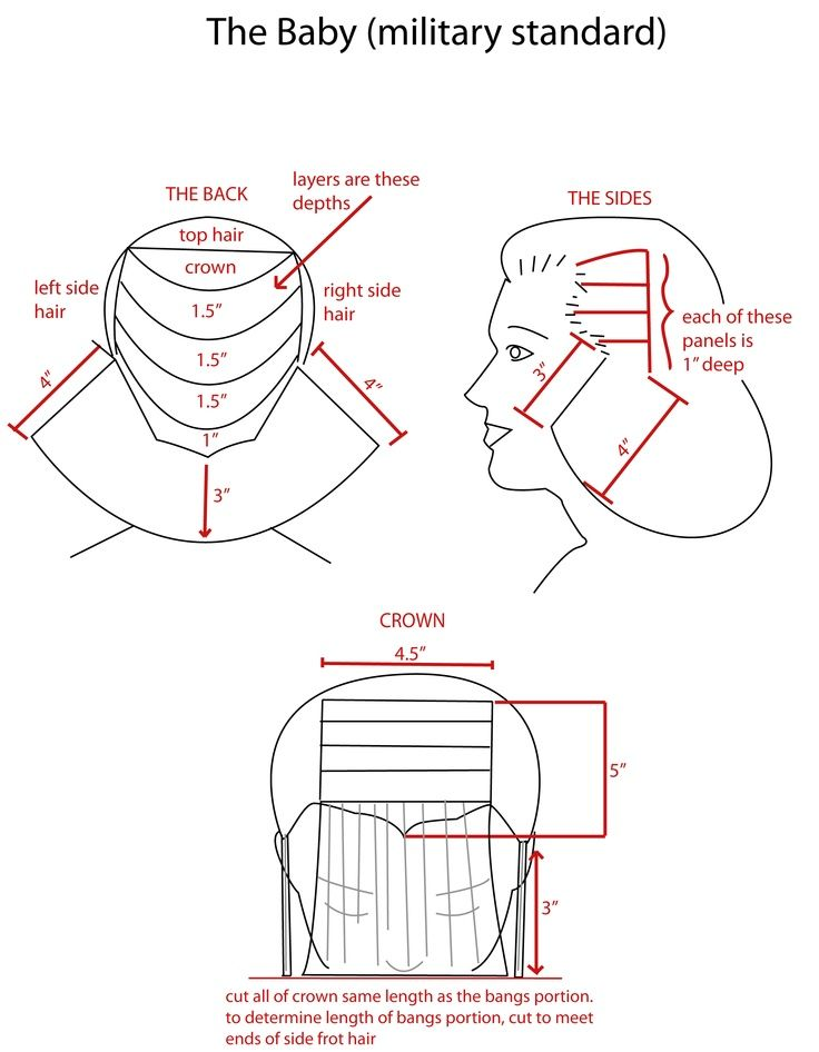 cutting hair diagrams - Buscar con Google | Cuts | Pinterest ...