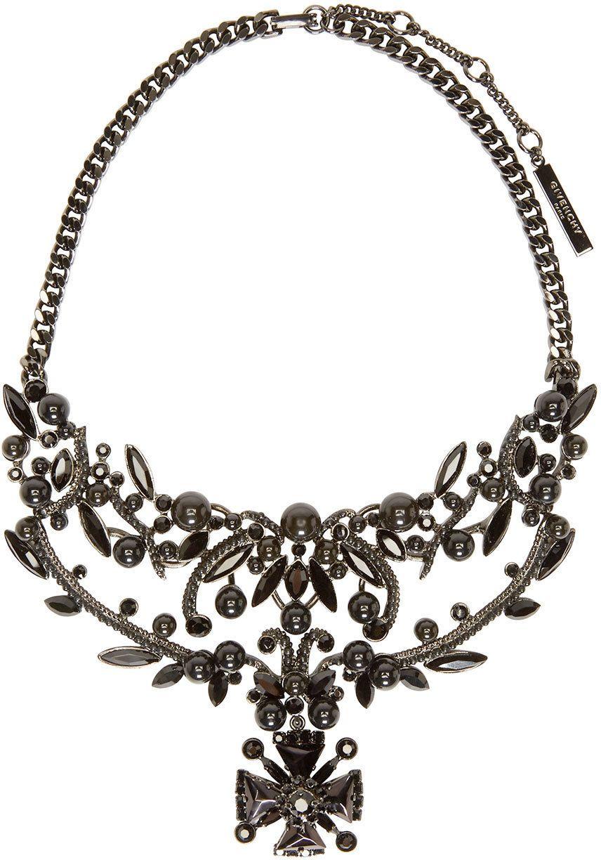 Givenchy Black Victorian Necklace | SSENSE