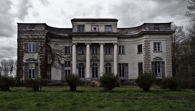 Abandoned mansion in Belgium.