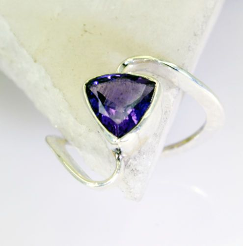 #Amethyst Gems 92 5 Silver Purity #Ring #Jewellery Sz 7 SRAME7 0250 | eBay