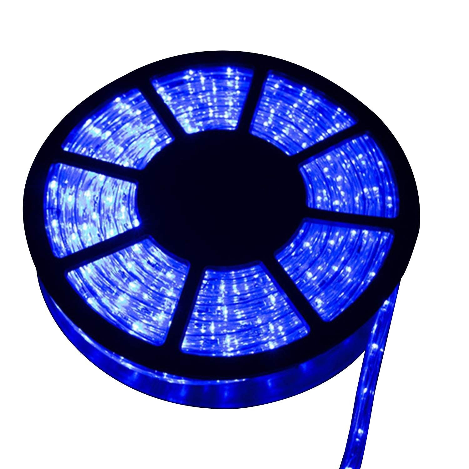 Led Rope Light 50ft 540 Leds Led Strip Lights Indoor Outdoor Waterproof Decorative Lighting Kit Blue Blue C8187ikmid9 Led Rope Lights Led Rope Rope Light