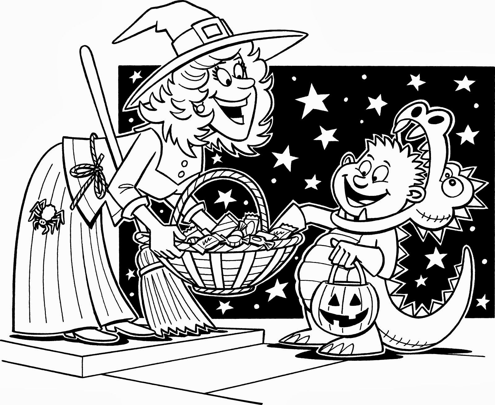 Trick Or Treat Worksheet Education Com Halloween Coloring Halloween Coloring Pictures Halloween Coloring Sheets