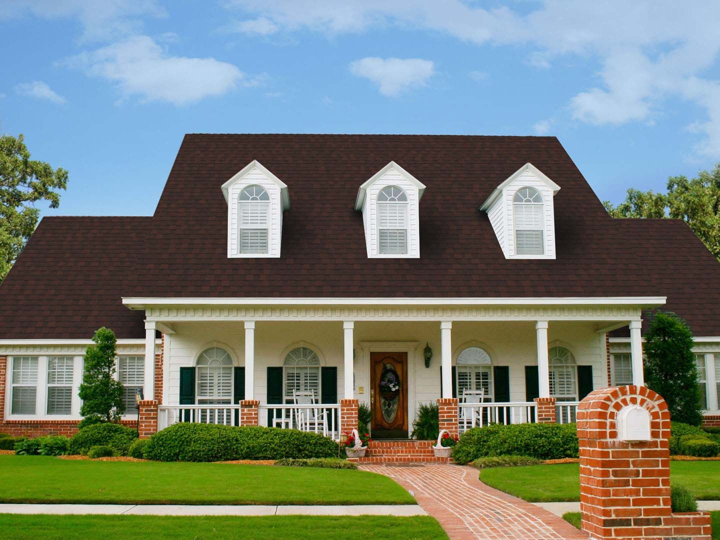 cape House Cheap roofing, Architectural shingles, Shingling