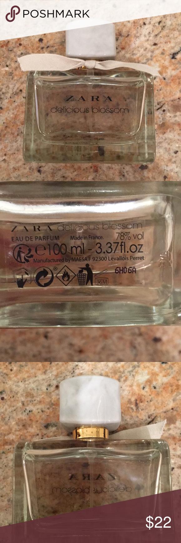 Zara Delicious Blossom Perfume 337 Fl Oz Used A Few Times Zara