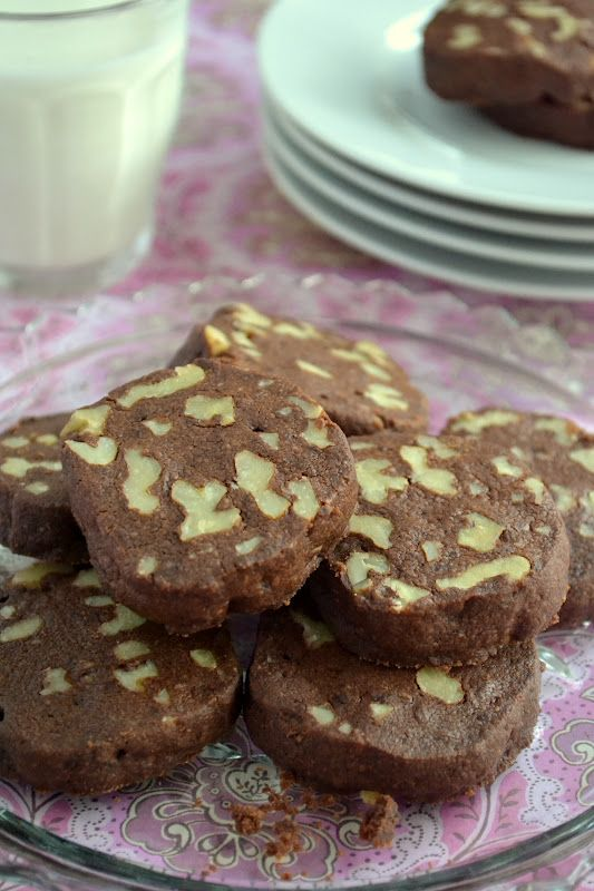 Chocolate Walnut Shortbread - The View from Great Island
