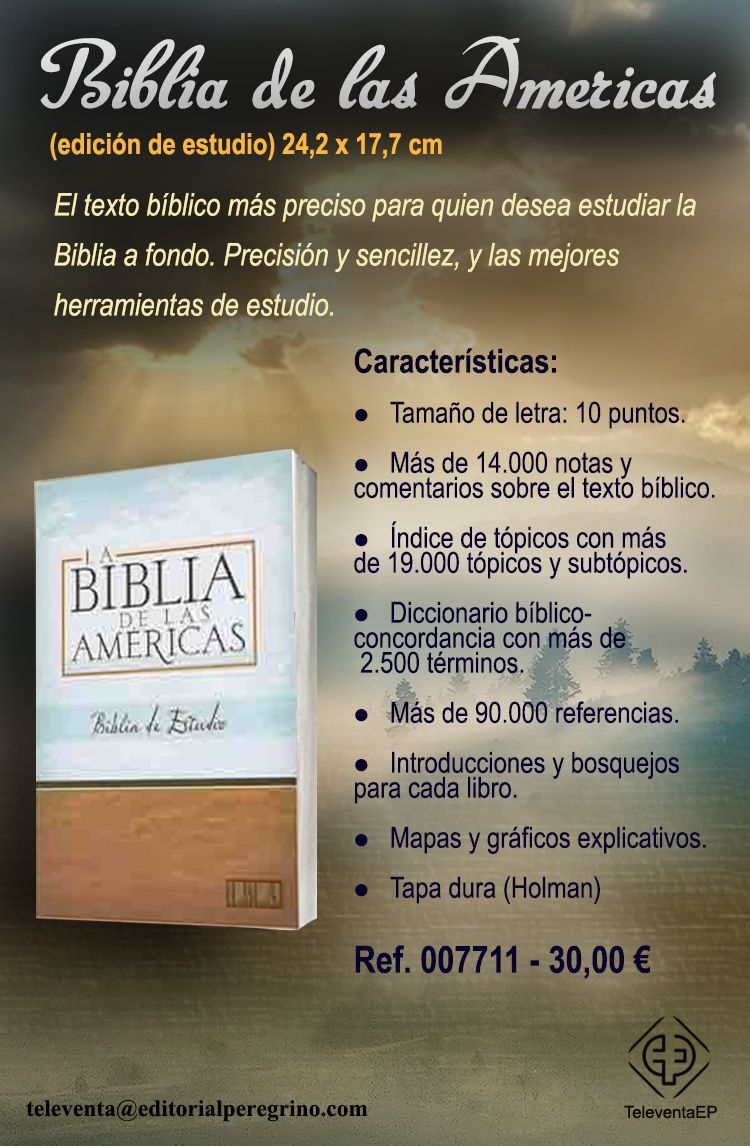 Biblia De Las Americas With Images Books Person Personalized