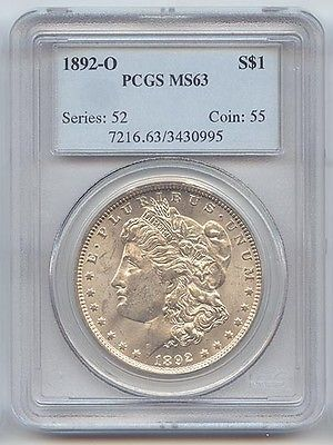1892-O Morgan Silver Dollar PCGS MS-63 https://t.co/3GNWOgMpa0 https://t.co/TVez0DKdki