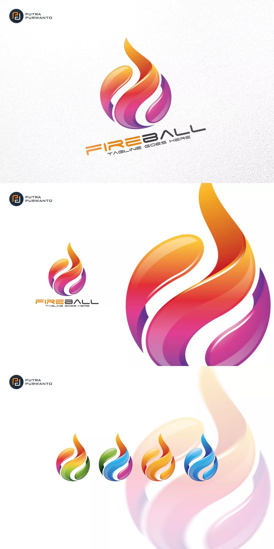 fireball fire logo template ai eps unlimiteddownloads logos