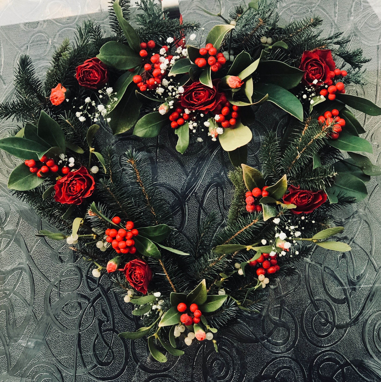 Valentine Decorations, Valentine Wreath, Christmas Decorations, Front Door Wreaths, Front