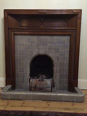 Original 1930s Solid Mahoghany Fire Surround Ebay Fireplace