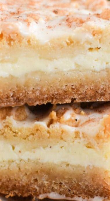 eggnog cheesecake bars #eggnogcheesecake