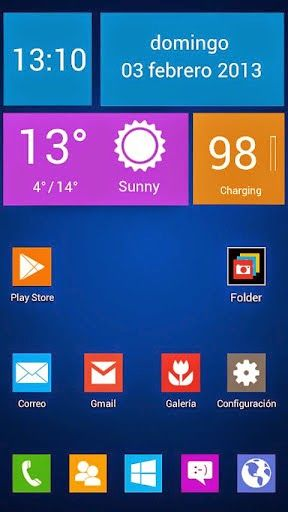 Next Launcher Theme Wintiles 8 Sebuah Tema Launcher Untuk Aplikasi Home Launcher Android Next Launcher 3d Shell Dirancang Oleh Vafne Yang Android Theme App