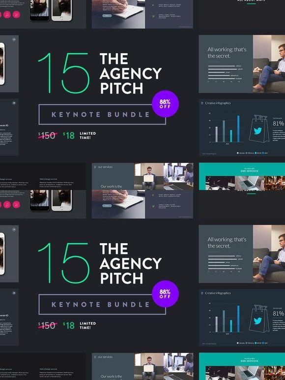 The agency pitch keynote bundle presentation templates the agency pitch keynote bundle maxwellsz