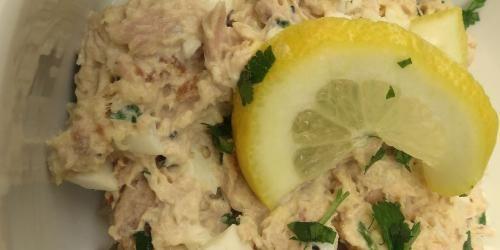 smoked tuna salad from brokeass gourmet