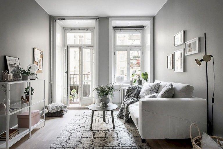 55 Awesome Studio Apartment With Scandinavian Style Ideas On A Budget Living Room Scandinavian French Doors Interior Scandinavian Exterior Design Two bedroom apartment in scandinavian
