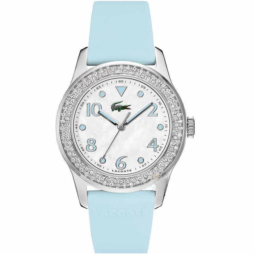 Lacoste Female Advantage Watch  2000664 Blue Analog Sale price. $107.95