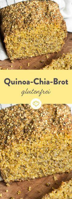 Photo of Gluten free quinoa chia bread