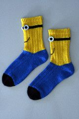 Ravelry Joknits Christmas Minion Socks Knitting Crocheting And