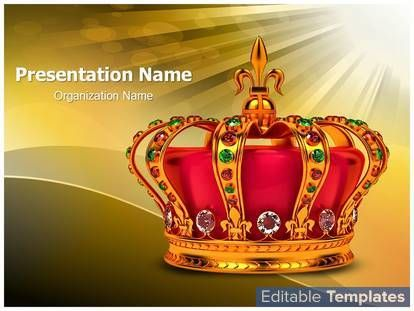 Golden royal crown design template this golden royal crown ppt golden royal crown design template this golden royal crown ppt template can be associated with toneelgroepblik Choice Image