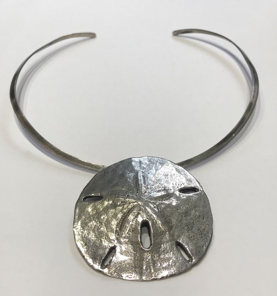 Vintage mignon faget sterling silver sand dollar pendant necklace vintage mignon faget sterling silver sand dollar pendant necklace mignonfaget pendant aloadofball Image collections
