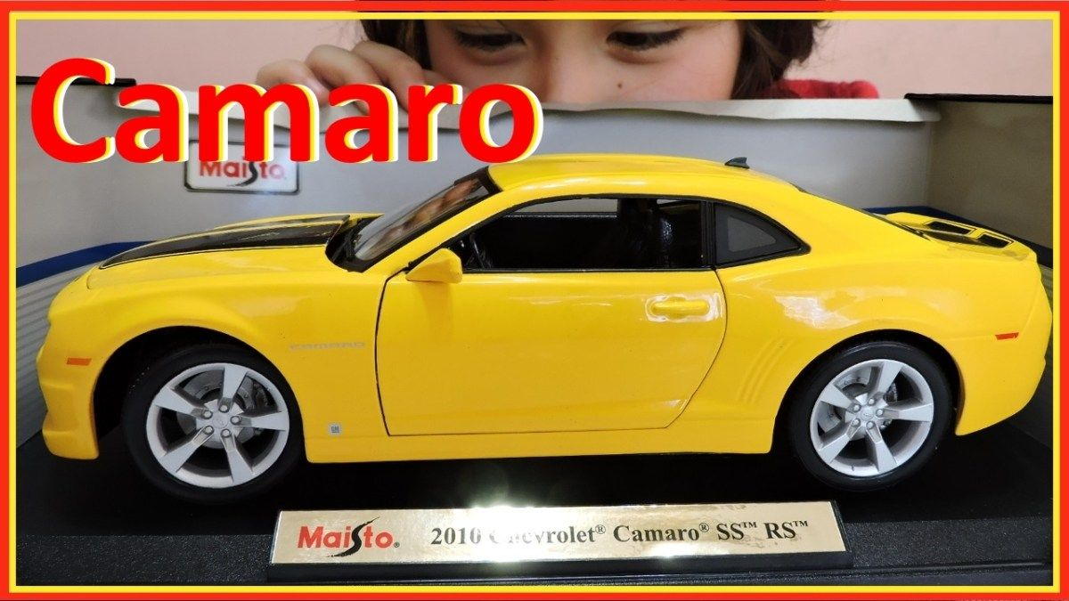 Toys cars for kids  Unboxing Maisto  Collectable Toy Car for Kids Yellow  Chevrolet