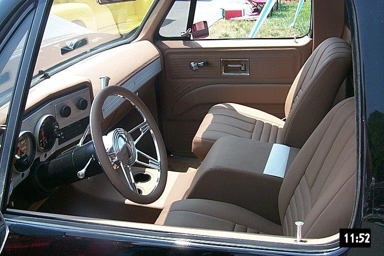 Black78k5 Int Jpg 768 512 C10 Chevy Truck Custom Car Interior Truck Interior