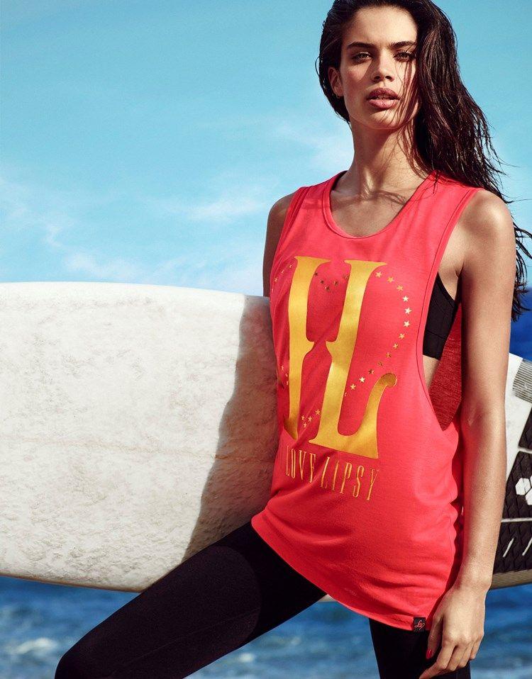 Lipsy Sportswear model:Sara Sampaio