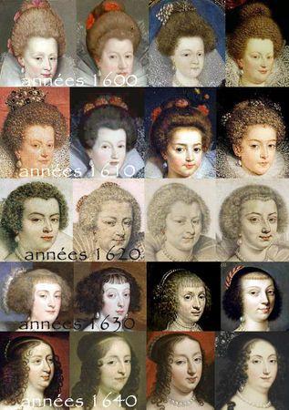 evolution_de_la_coiffure_1600_1650 1600 1650 Jacobean