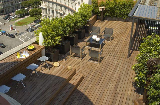 diseño terrazas diseño paisaje Pinterest