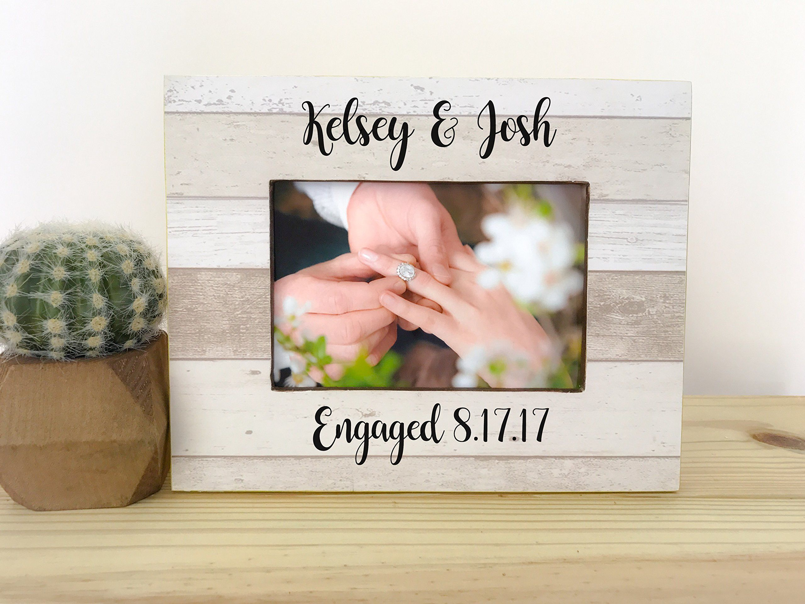 Personalized Engagement Frame Engagement Party Gift Frame Gift for ...