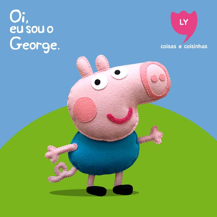 #george #brother #peppapig #cute #lycoisasecoisinhas