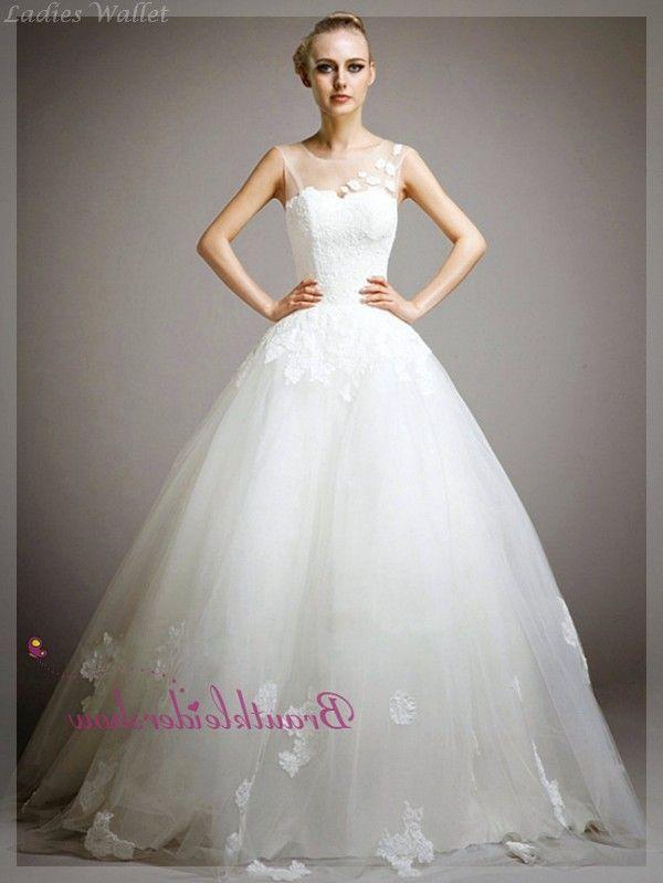 Hochzeitskleid A Linie Spitze Erstaunliche | Wedding ideas ...