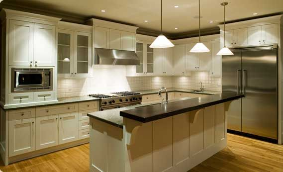I'm attracted to white kitchens, but they seem like they would be hard to keep clean.