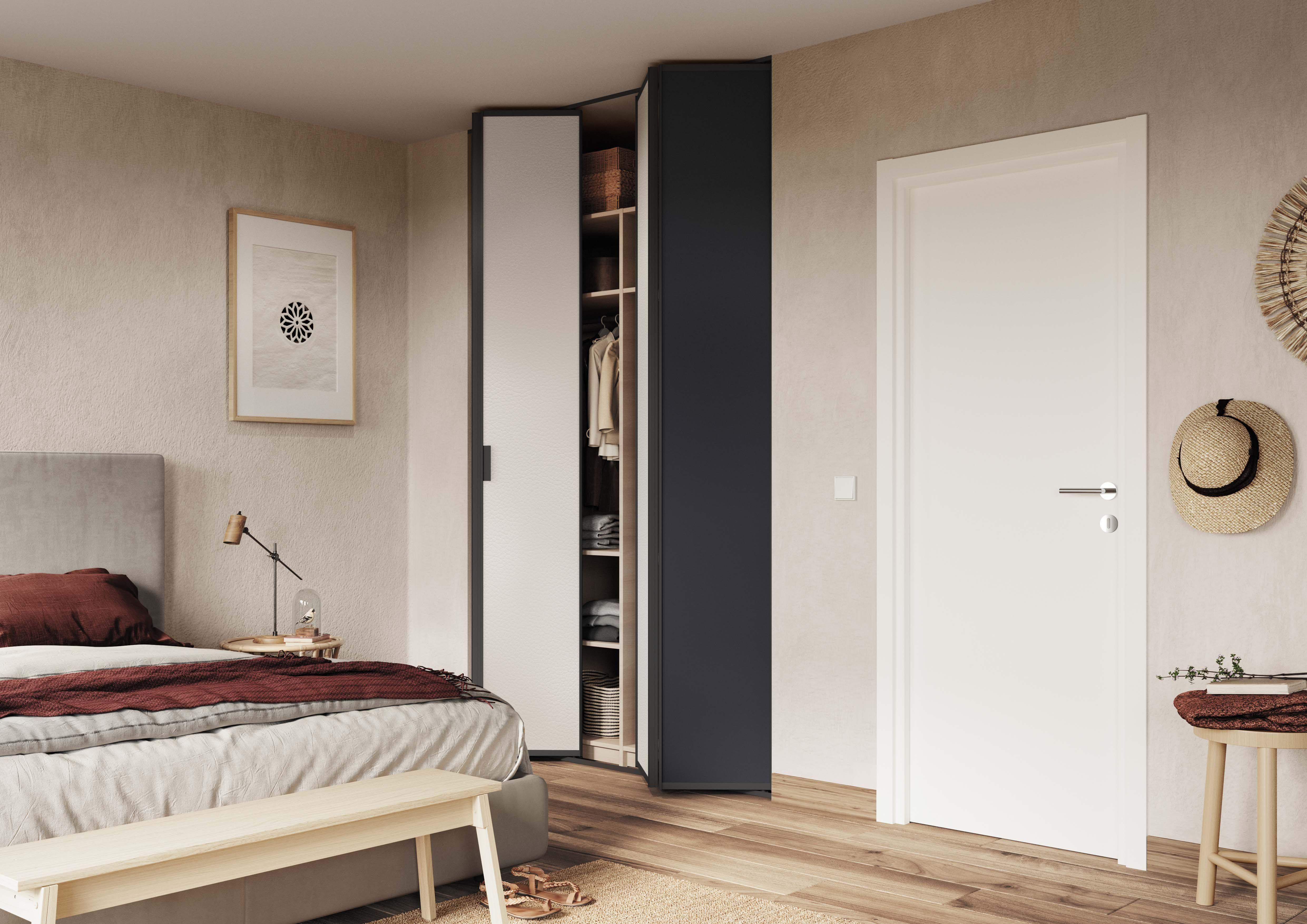 Creer Des Portes De Placard Coulissantes les portes de placard pliantes sogal vous permettent de