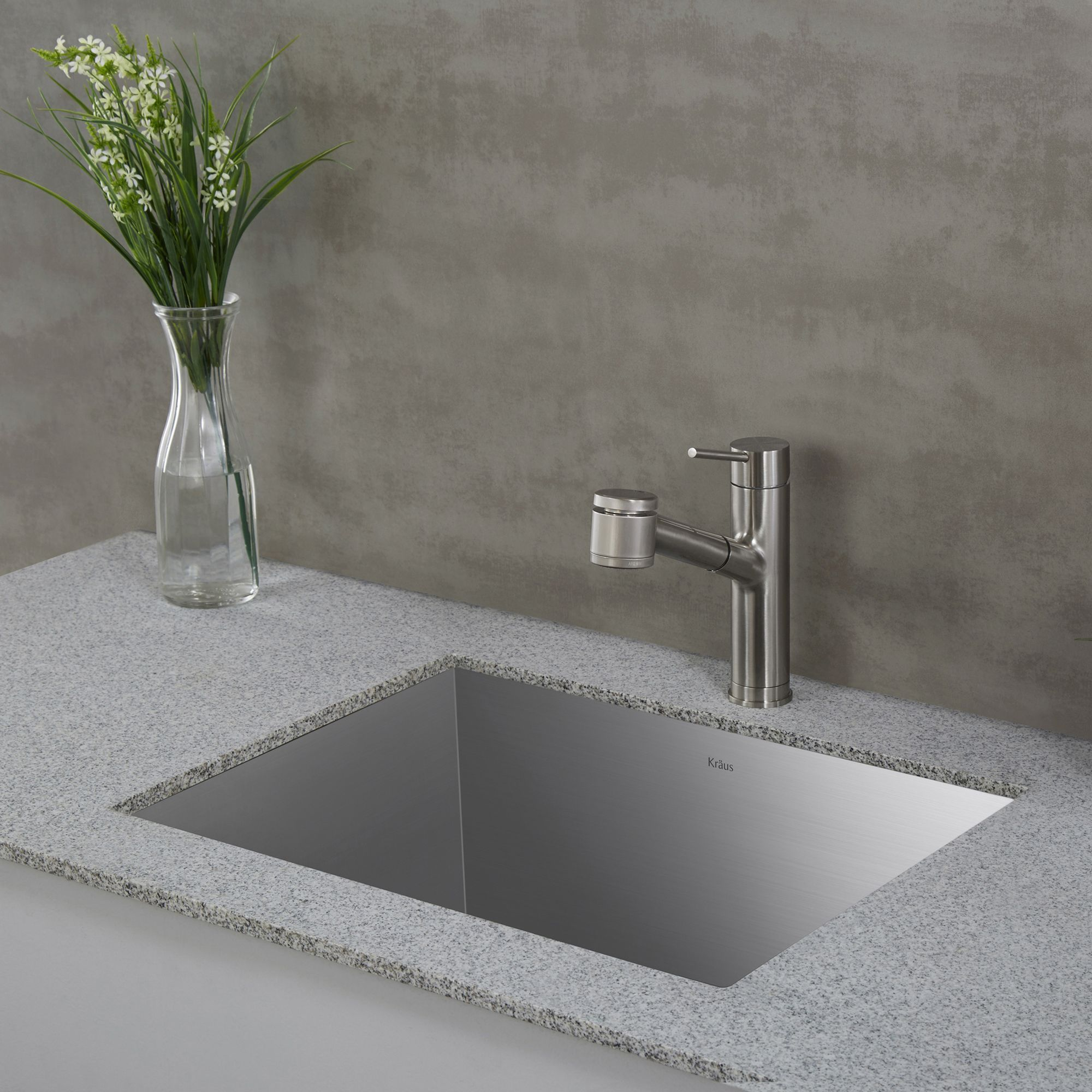 The Pax Zero Radius 24 Inch Utility Sink Has A Clean Geometric Design With Corners For Modern Look Handcrafted From Premium T 304 Stainless