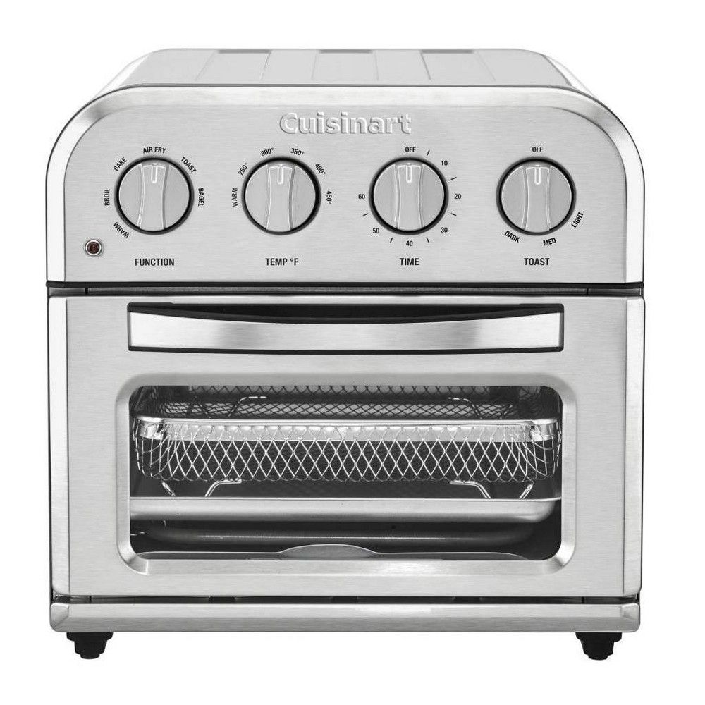 Cuisinart Compact Air Fry Toaster Oven In 2020 With Images Toaster Oven Kitchen Countertop Appliances Toaster