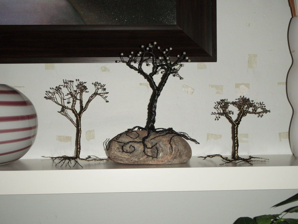 Reclaimed Trees set of 3 dekorcie t Dekorcie
