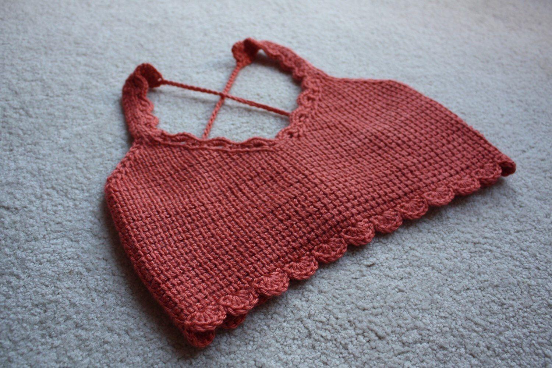 Crochet Crop Top, boho chic, festival fashion, sexy, open back // The Lauren Crop // by KrochetbyKrystle on Etsy https://www.etsy.com/listing/242136398/crochet-crop-top-boho-chic-festival