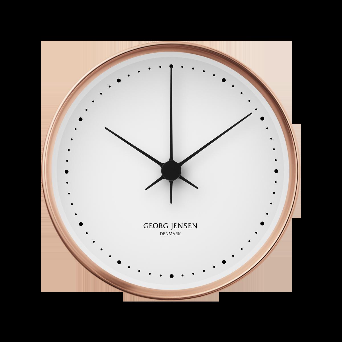 Koppel 10 Cm Wall Clock Copper With White Dial Wanduhren Modern Wanduhr Uhrideen