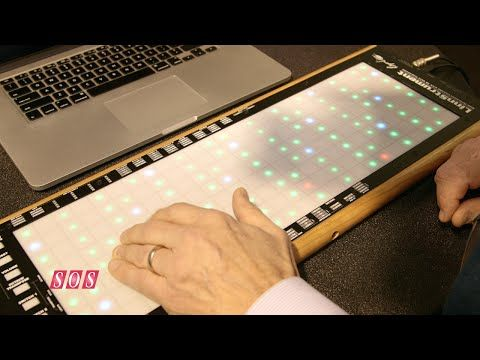 Roger Linn Design - LinnStrument MIDI Controller NAMM 2015 - YouTube | MOAR EXPRESSIVITY YES PLZ
