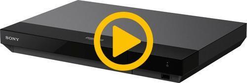 Sony - Streaming 4K Ultra HD Hi-Res Audio Wi-Fi Built-In Blu-Ray Player - Black #bluray