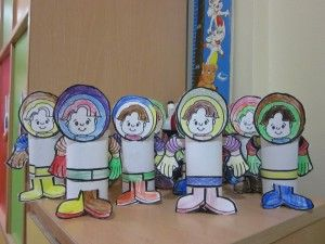 Toilet Paper Roll Astronaut Craft Community Helpers