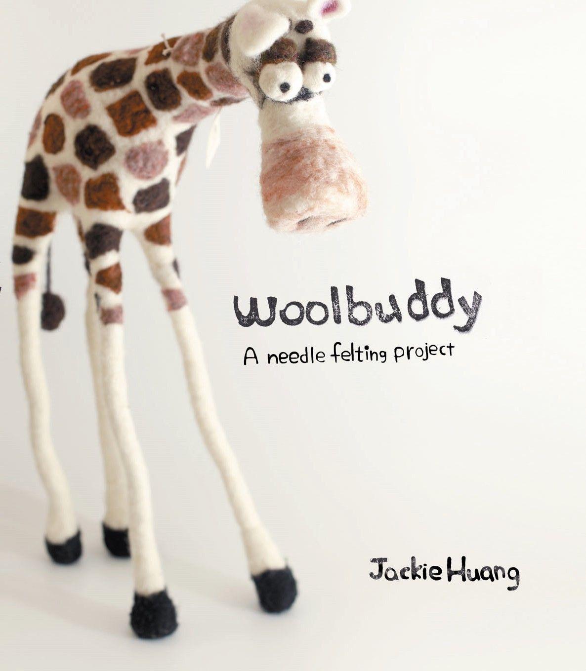 Woolbuddy book needle felting. $16.00, via Etsy.