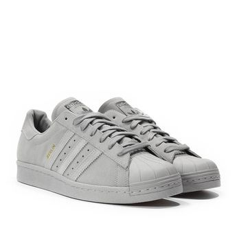 Adidas Superstars Grey | Adidas superstar schuhe, Superstars