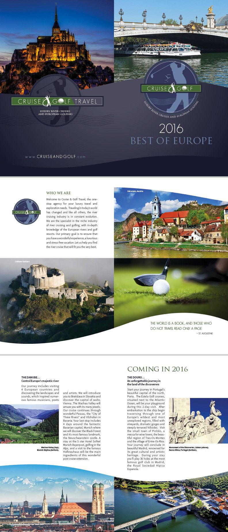 15 Travel Brochure Examples With Enticing Designs Travel