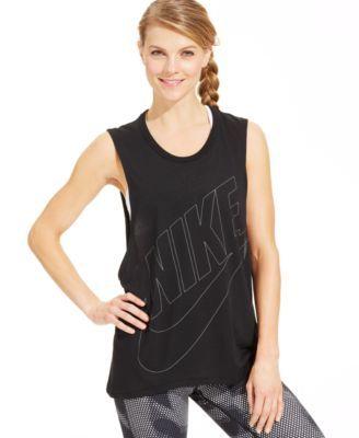 Nike Signal Muscle Tank - Tops - Women - Macy's
