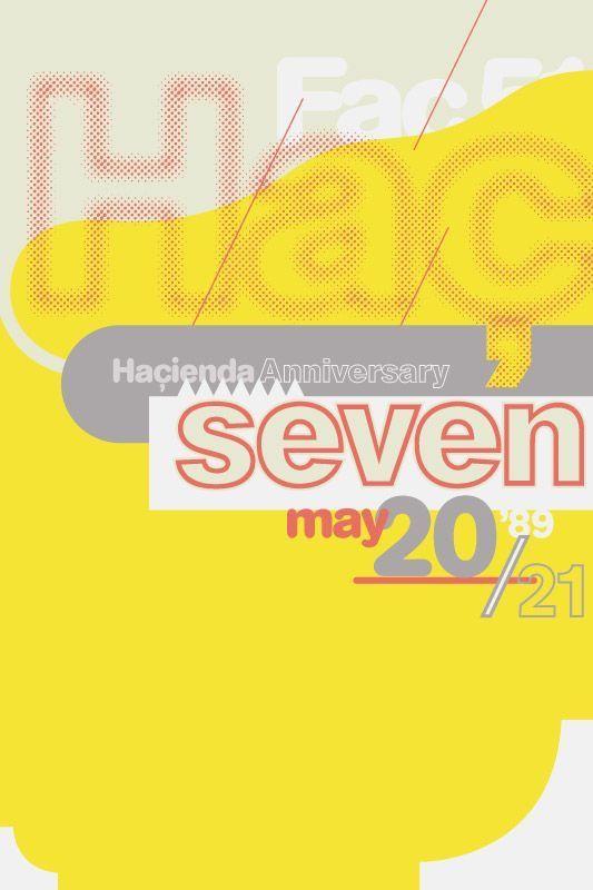 8vo / Haçienda / Seventh Anniversary / Poster / 1989