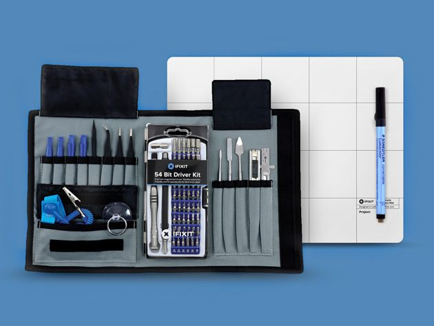 Ifixit Pro Tech Toolkit A 70 Piece Repair Kit For Fixing A Wide Variety Of Gadgets Ifixit Ifixit Tools Tool Sets